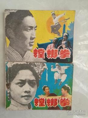 经典套书连环画《螳螂拳》(2本一套全)2