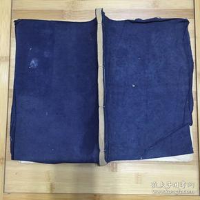 民国文房旧纸:竹纸制空白线装本27*20.5cm(附信封2枚23*11.5)