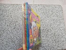 喜洋洋与灰太狼·新版宝宝自己读:  第1级、第2级、第3级、第4级  上下册  全8本合售  全新