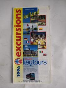 荷兰旅游图(1996年,英文)