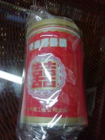 双喜铁桶烟盒(八九十年代桶装烟)