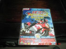 游戏光盘:摩托英豪 3  黄金版(1PC  DVD)