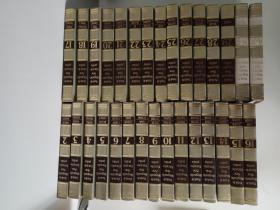 funk & wagnalls new encyclopedia 英文原版 芳瓦纳百科全书(2-29册)+FUNK& Wagnalls Standard Desk Dictionary(N-Z、A-M)2册(共30册合售)
