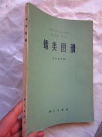 中国科学院动物研究所《蛾类图册》正文158页加彩图50页上千幅图   完整品佳
