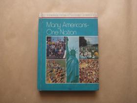 MONG AMEFICQNS-One Nqtion 多种族的美国人  一个统一的国家