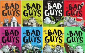濂楄涔� the bad guys 1-8 aaron blabey 瓒呯骇鎼炵瑧鐨勬极鐢伙紝8鍐屽瑁咃紝榻愬叏浜�