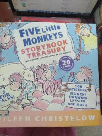 二手正版Five Little Monkeys Storybook Treasury  五只小猴子 英文原版9780547238739
