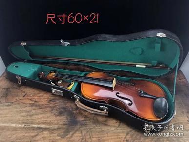 60/70年代小提琴  品相一流  完整保老  正常使用