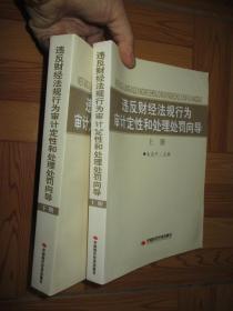 违反财经法规行为审计定性和处理处罚向导    (上下册) 【小16开】