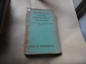 偏微分方程原理(英文原版) 著名数学家路见可签名藏书