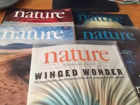 nature 2017年(5本合售.月份见图)