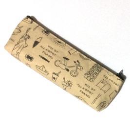 晨光(M&G)APB93556  本味笔袋  棉布笔袋  文具盒
