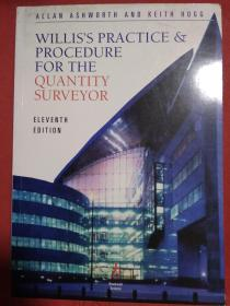 Willis's Practice and Procedure for the Quantity Surveyor  威利斯工料测量师实务和程序  英文原版