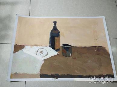 水粉画第五幅