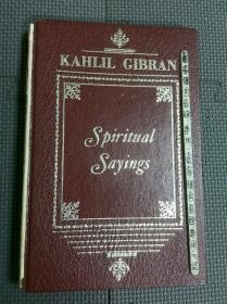 kahlil gibran spiritual sayings 绾集浼︿綔鍝� 鑻辨枃鍘熺増 1962骞�
