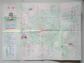 1987年成都旅游地图