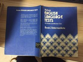 NELSON ENGLISH LANGUAGE TESTS(BOOK 2 INTERMEDIATE)(尼尔森英语考试  中级)16开