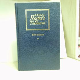 Roget's Thesaurus of English Words and Phrases(New Edition)16开硬精装,英文原版,1254页