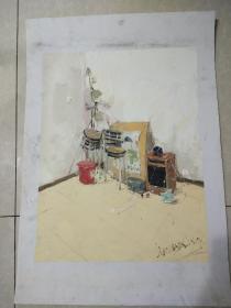 水粉画第十幅作品