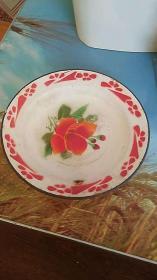 1983年 搪瓷盘子