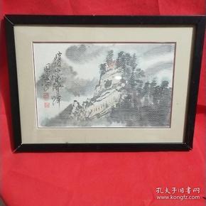 中国织画~甘肃平凉市纸织画社