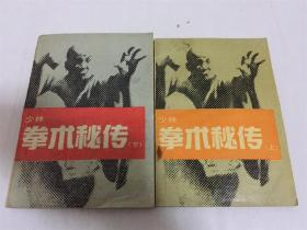 少林拳术秘传(全上下册) 德虔编著 北京体育学院出版社