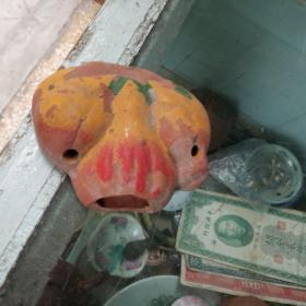 早期彩色潮州香插,潮汕陶瓷