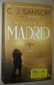 英文原版书 Winter in Madrid 平装本 Paperback – 2009 by C J Sansom  (Author)