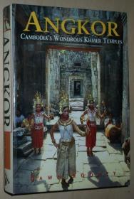 英文原版书 Angkor: Cambodias Wondrous Khmer Temples (Odyssey Angkor) Paperback 平装 2011 Dawn Rooney
