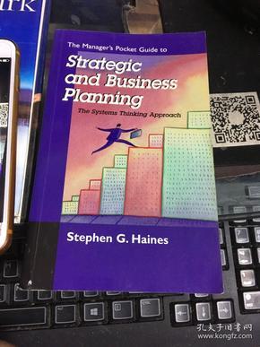 外文原版:经理的口袋指南战略和业务规划 系统思想方法