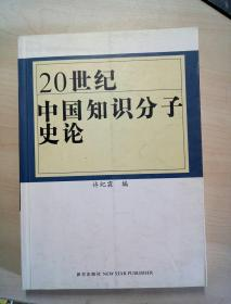 20世纪中国知识分子史论