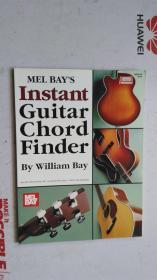 老乐谱  英文原版    MEL BAYS   Mel BayS  Instant Guitar Chord Finder  梅尔湾的即时吉他和弦查找器