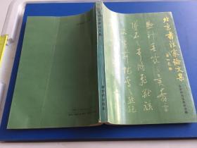 北京书法家论文集