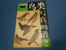 鸟类写真画谱.2--大8开一版一印