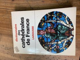 3231:《DICTIONNAIRE DES CATHEDRALES DE FRANCE    LAAROUSSE》法国大教堂 ,内多精美插图