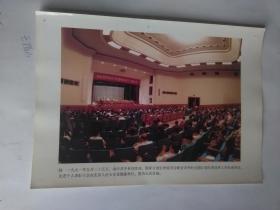 【计划生育宣传图片 —一九九一年中央计划生育表彰大会在人民大会堂举行】