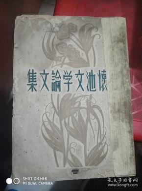 石怀池文学论文集