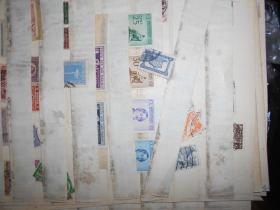 民国时期外国邮票一册千枚左右