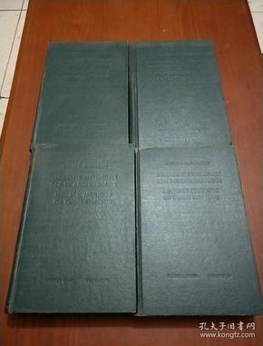 近代植物分析法 (德文版 全1--4卷  刘美兰藏书)
