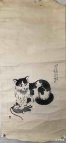徐悲鸿 纯手绘 国画(卖家包邮)工艺品
