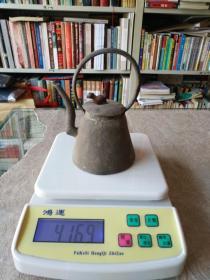 《民国 锡壶》高14厘米,重417克!!