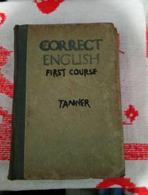 精装1941年,英文原版《正确的英语第一课》