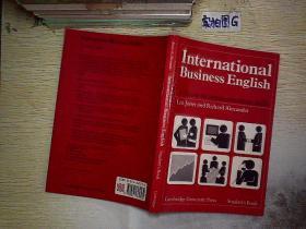 INTERNATIONAL BUSINESS ENGLISH