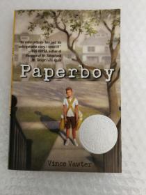 Paperboy [Paperback]送报男孩(2014年纽伯瑞银将小说,简装)