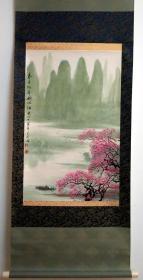 當代名家-呂元忠-《春日桃花遍地紅》