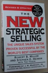 英文原版书 The New Strategic Selling: The Unique Sales System Proven Successful by the Worlds Best Companies by Robert B. Miller  (Author, Contributor), Stephen E. Heiman  (Author),
