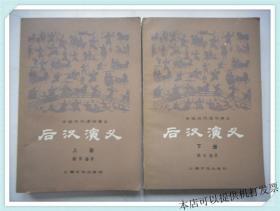 中国历代通俗演义:后汉演义 上下