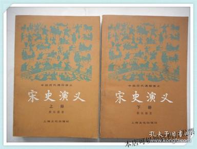 中国历代通俗演义:宋史演义 上下册