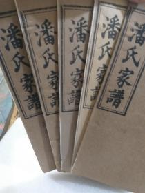 湖北黄冈地区(蕲春、浠水)潘氏家谱二十册(不全)