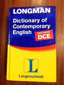 库存无瑕疵 硬精装 英国进口 LONGMAN DICTIONARY OF CONTEMPORARY ENGLISH 4th edition with CD-ROM朗文当代英语辞典{第四版}